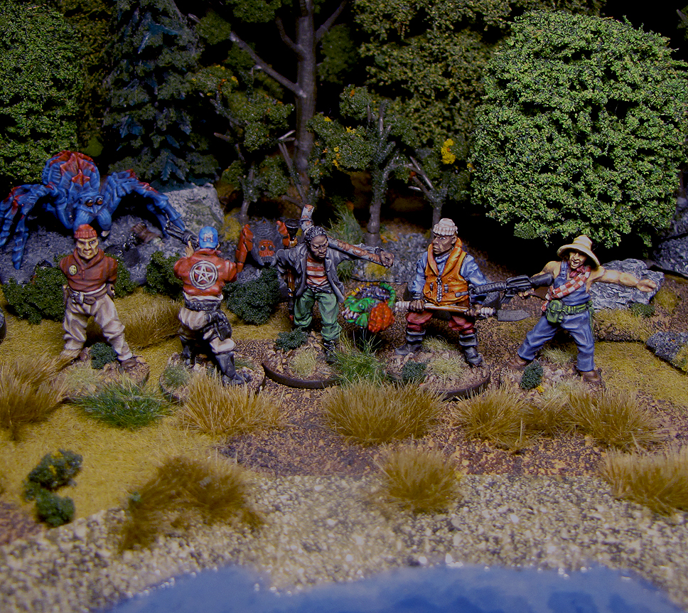 Sailing the Contaminated Seas from Lead Adventure Miniatures painted by Neldoreth - An Hour of Wolves & Shattered Shields