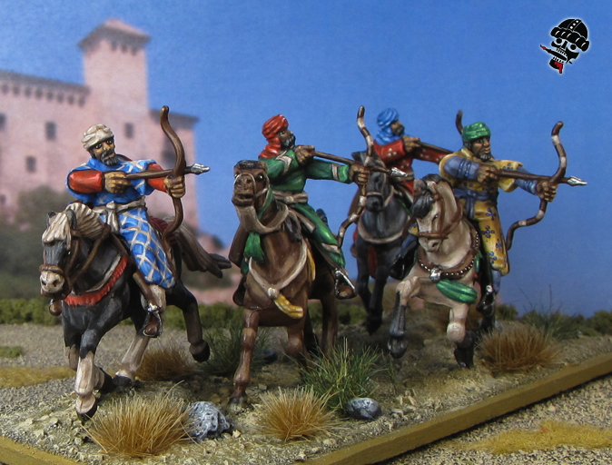 Al-Andalus Andalusian Light Horse from HaT Miniatures painted by Neldoreth - An Hour of Wolves & Shattered Shields