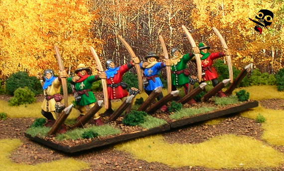 Bretonnian Army from Games Workshop painted by Neldoreth - An Hour of Wolves & Shattered Shields