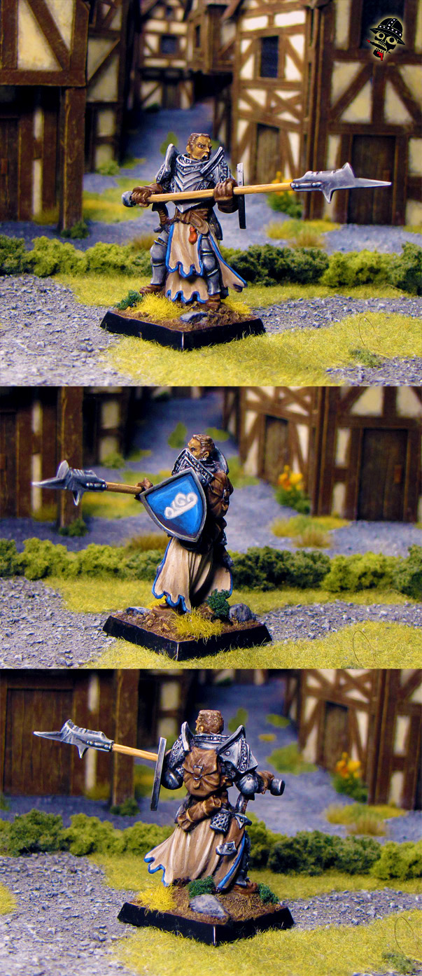 Severic the Cleric from Reaper Miniatures painted by Neldoreth - An Hour of Wolves & Shattered Shields