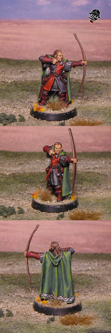 Tom Kruse, ranger of the north from Games Workshop painted by Neldoreth - An Hour of Wolves & Shattered Shields