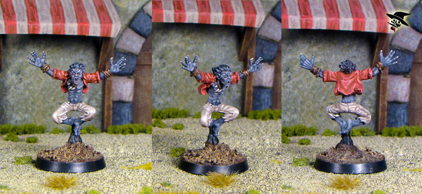 Vampire Spawn of Strahd from Reaper Miniatures painted by Neldoreth - An Hour of Wolves & Shattered Shields