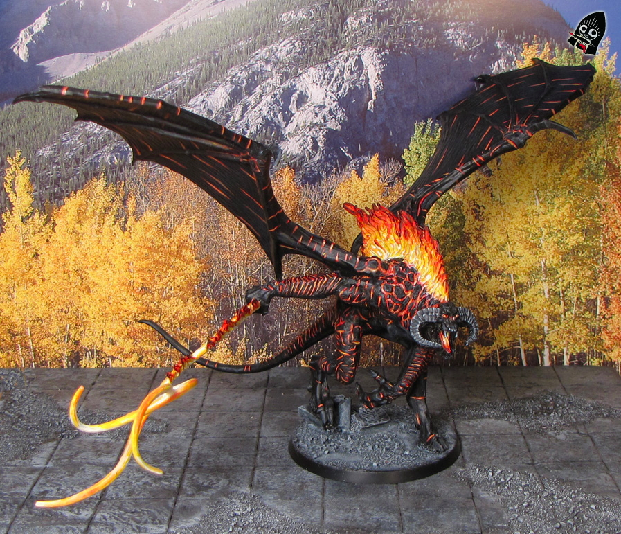 The Balrog of Morgoth from Games Workshop painted by Neldoreth - An Hour of Wolves & Shattered Shields