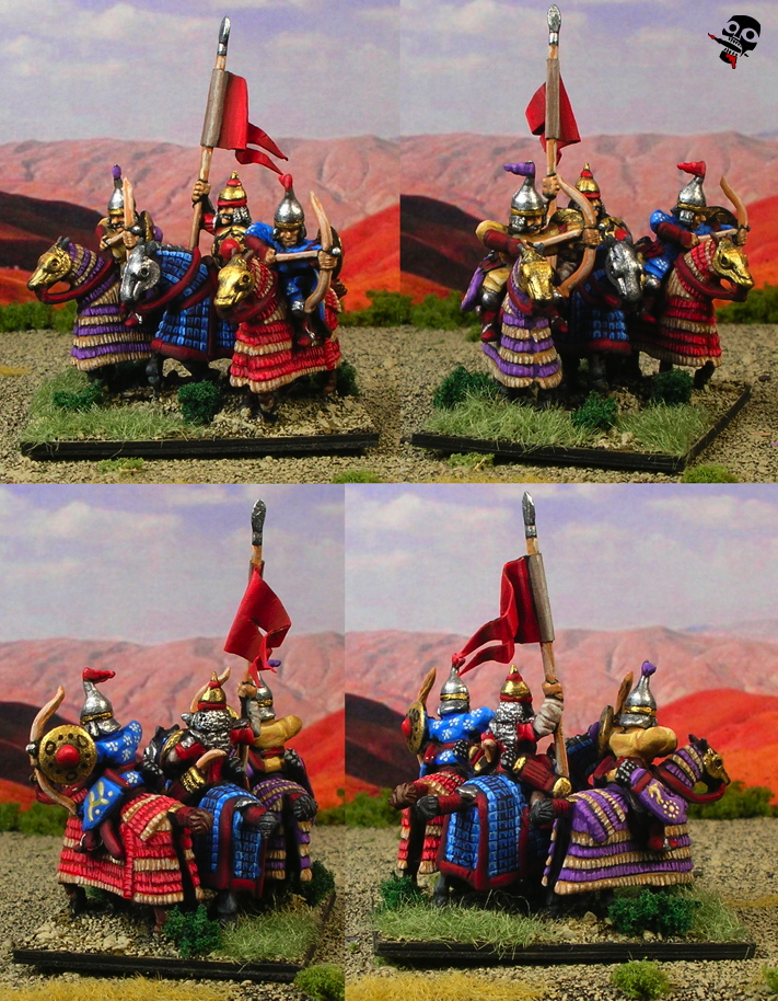 15mm Medieval Persians from Navwar Miniatures painted by Neldoreth - An Hour of Wolves & Shattered Shields