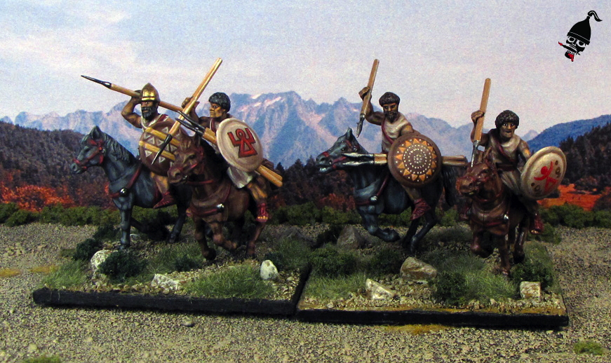 Numidian Light Cavalry from Wargames Factory painted by Neldoreth - An Hour of Wolves & Shattered Shields