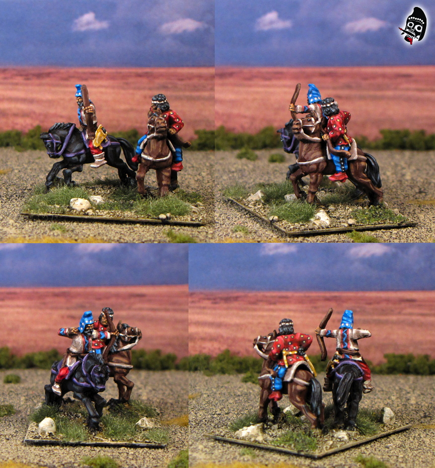 15mm Late Scythian and Early Parthian Army from Old Glory 15s painted by Neldoreth - An Hour of Wolves & Shattered Shields