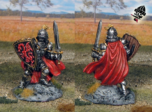 Shadows Over Camelot King Arthur from  painted by Neldoreth - An Hour of Wolves & Shattered Shields