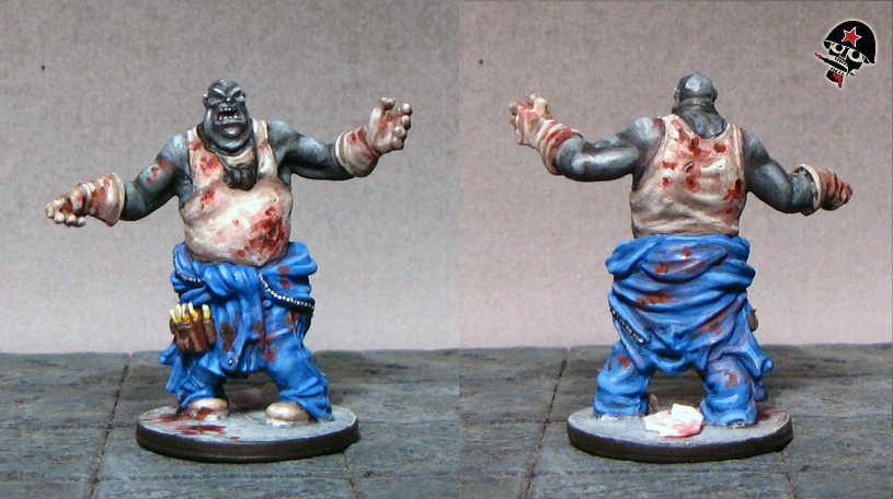 Zombicide Zombies from Cool Mini Or Not painted by Neldoreth - An Hour of Wolves & Shattered Shields