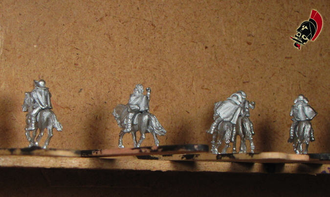 Xyston unpainted Thessalian light horse on popsicle sticks