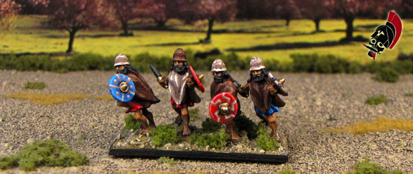 The last of the Greek Peltasts from Xyston Miniatures
