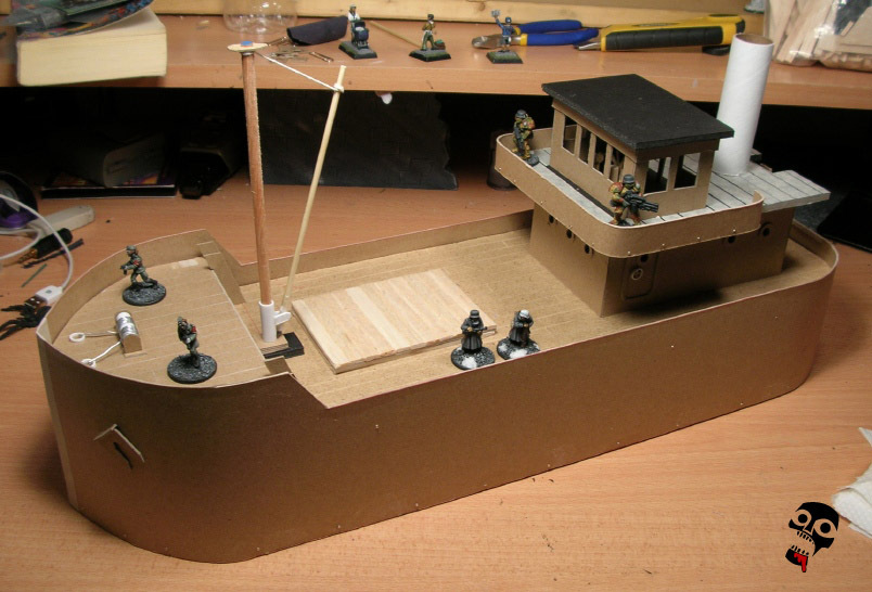 Tramp Steamer - a scratch build by Neldoreth - An Hour of Wolves & Shattered Shields